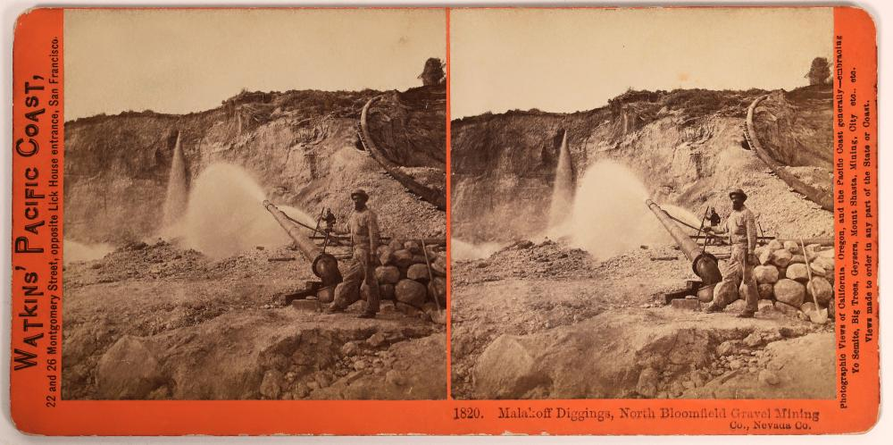 Malakoff Diggings Stereoview [139886]