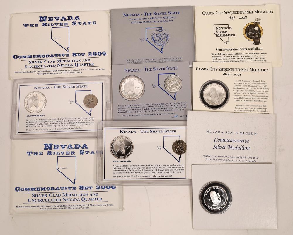 Nevada State Museum Commemorative Medallions [136236]