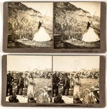 Two Stereographs--Native American