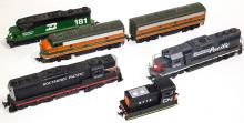 HO Diesel Engines and switcher