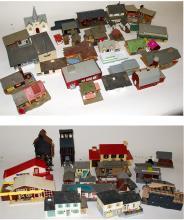 HO Plasticville buildings