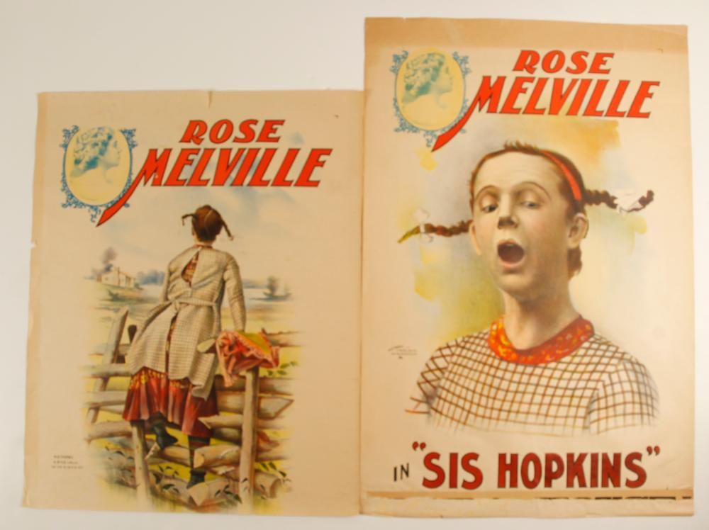 Lithographs of Rose Melville (2)