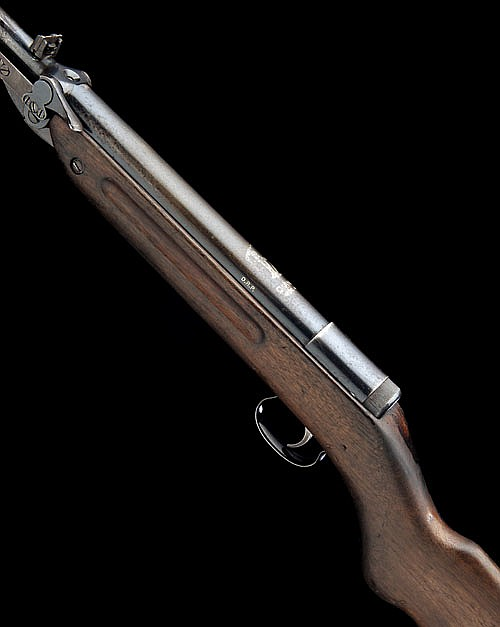 DIANA, GERMANY A  177 UNDER-LEVER SPRING-PISTON AIR-RIFLE, M