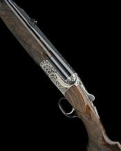 ABBIATICO & SALVINELLI A .375 H&H SINGLE-TRIGGER DETACHABLE TRIGGERPLATE-ACTION OVER AND UNDER EJECTOR DOUBLE RIFLE, serial no. F0638,