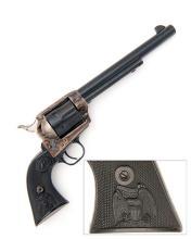 COLT, USA A .45 (LONG COLT) SIX-SHOT SINGLE-ACTION REVOLVER, MODEL 'SINGLE ACTION ARMY', serial no. 80819SA,