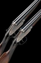 J. PURDEY & SONS A PAIR OF LIGHTWEIGHT 12-BORE SELF-OPENING SIDELOCK EJECTORS, serial no. 24596 / 7,