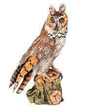 A KAISER SCULPTURE OF WILDLIFE ''LONG-EARED OWL'',
