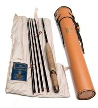 HOUSE OF HARDY A GRAPHITE SMUGGLER DE-LUXE FISHING ROD,