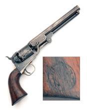 COLT, USA A .36 PERCUSSION SIX-SHOT REVOLVER, MODEL ''BRITISH ISSUE 1851 NAVY'', serial no. 187092,