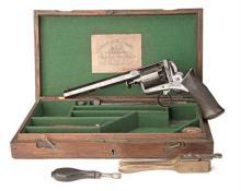 DEANE ADAMS & DEANE, LONDON A CASED 38-BORE PERCUSSION SELF-COCKING REVOLVER, MODEL ''1851'', serial no. 8117R,
