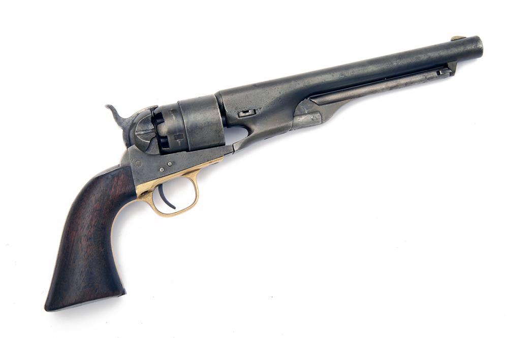 COLT, USA A .44 PERCUSSION SINGLE ACTION REVOLVER, MODEL 'COLT'S 1860 ARMY', serial no. 80673,