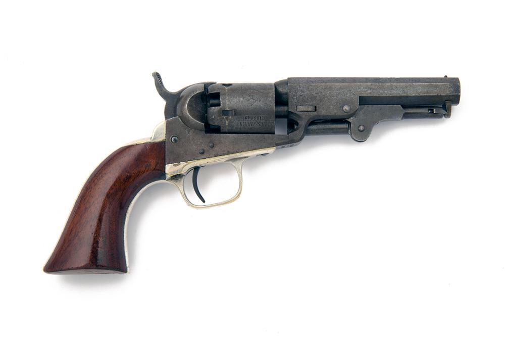 COLT, USA A .31 PERCUSSION SINGLE-ACTION REVOLVER, MODEL 'COLT'S 1849 POCKET', serial no. 183643,