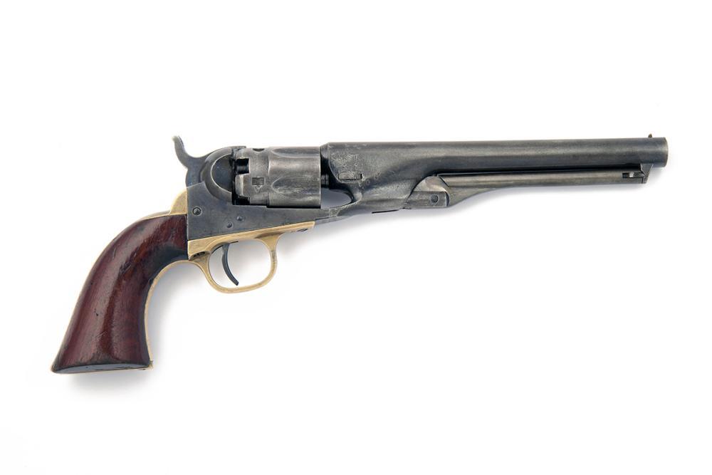 COLT, USA A .36 PERCUSSION SINGLE-ACTION REVOLVER, MODEL 'COLT'S 1862 POLICE', serial no. 40063,