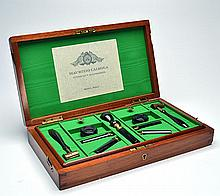 MAURIZIO CAIROLA A COMPREHENSIVE PRESENTATION SET OF CARTRIDGE RELOADING SIZING TOOLS,