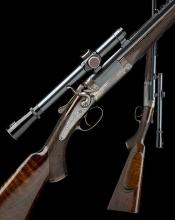 HOLLAND & HOLLAND A .303 SINGLE-BARRELLED TOPLEVER HAMMER RIFLE, serial no. 19567,
