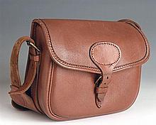 PAYNE GALLWEY A LEATHER CARTRIDGE BAG,