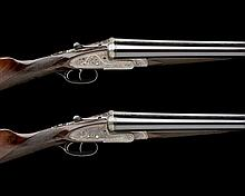 JOHN RIGBY & CO. A PAIR OF 12-BORE (2IN.) 'THE SANDRINGHAM' SIDELOCK EJECTORS, serial no. 18244 / 18249,