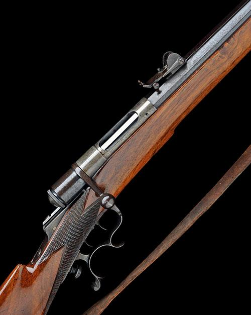 * SOC. IND. SUISSE A 10.4mm (VETTERLI RIMFIRE) SINGLE-SHOT MATCH-RIFLE, MODEL ''SYSTEME VETTERLIN, no visible serial number,