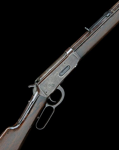WINCHESTER REPEATING ARMS A .32-40 (W&B) LEVER-ACTION REPEATING RIFLE, MODEL ''1894'', serial no. 155144,