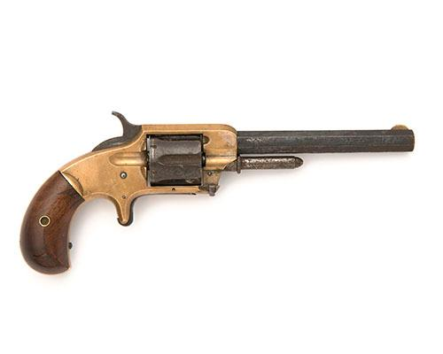 WHITNEYVILLE ARMORY, USA A SCARCE .32 (RIMFIRE) SIX-SHOT SINGLE-ACTION REVOLVER, MODEL ''2'', serial no. 3930,