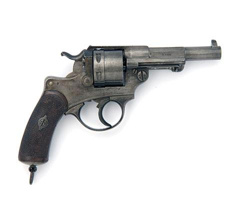 * ST ETIENNE, FRANCE AN 11mm (FRENCH ORDNANCE) SIX-SHOT SERVICE REVOLVER, MODEL 'MLE 1873', serial no. H23134,
