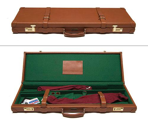 BROWNING A LEATHER UNIVERSAL GUNCASE,