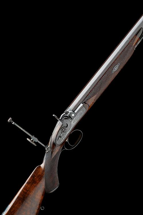 ALEX'R. HENRY, EDINBURGH A FINE CASED .451 PERCUSSION BEST-QUALITY MATCH-RIFLE, serial no. 1088,