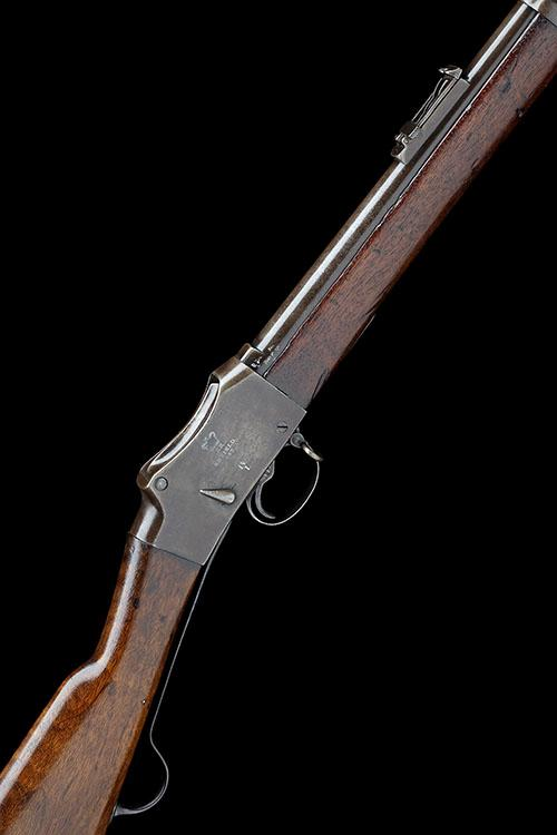 ENFIELD A .577-450 (M/H) SINGLE-SHOT SERVICE RIFLE, MODEL ''MARTINI-HENRY MKIV LONG-LEVER'', serial no. B941,
