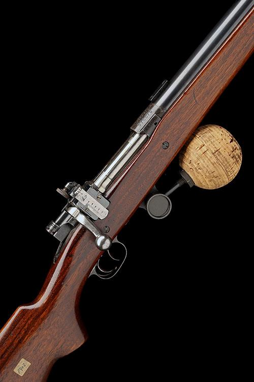 WINCHESTER REPEATING ARMS FOR SPRINGFIELD ARMORY, USA A SCARCE .30-06 BOLT-ACTION MATCH-RIFLE, MODEL ''PALMA-MATCH'', serial no. 97687.