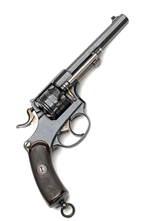 * A SCARCE 10.4mm (SWISS) SIX-SHOT SERVICE REVOLVER, MODEL ''M1878'', serial no. 5466,