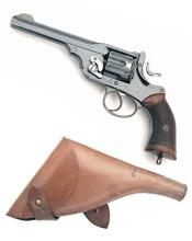 WEBLEY FOR ARMY & NAVY A .455/.476 DOUBLE-ACTION SERVICE REVOLVER, MODEL ''W.G. ARMY'', serial no. 18670,