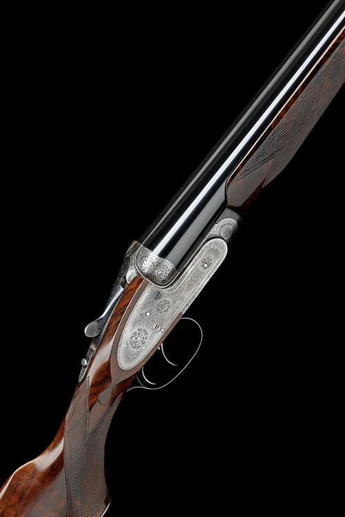 J. PURDEY & SONS A 12-BORE SELF-OPENING SIDELOCK EJECTOR LIVE PIGEON GUN, serial no. 23930,