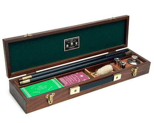JAMES PURDEY & SONS A CASED PRESENTATION 12-BORE CLEANING KIT,