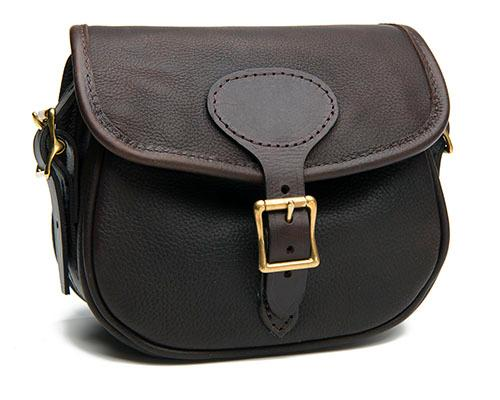† JO YORATH A NEW AND UNUSED LEATHER CARTRIDGE BAG,