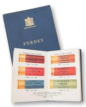 A 'PURDEY CARTRIDGES AND GAME REGISTER' BOOKLET,