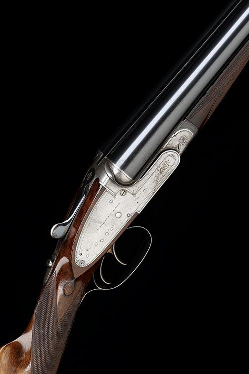 T. HORSLEY & SON A 12-BORE SIDELOCK EJECTOR, serial no. 3640,