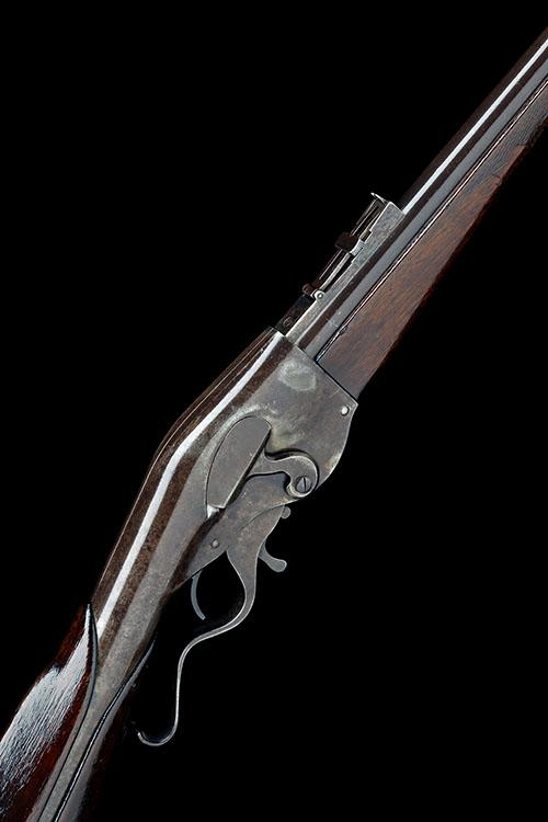 EVANS, USA A GOOD .44 (EVANS LONG) LEVER-ACTION REPEATING CARBINE, MODEL ''NEW-MODEL'', no visible serial number,