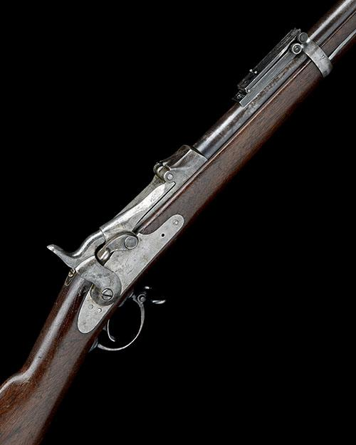 SPRINGFIELD ARMORY, USA A .45-70 (GOVT) SINGLE-SHOT BREECH-LOADING SERVICE-RIFLE, MODEL ''TRAPDOOR'', serial no. 347122,