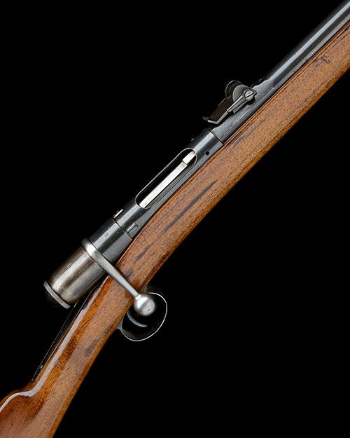 * WAFFENFABRIK BERN, SWITZERLAND  A 10.4mm (VETTERLI) SINGLE-SHOT BOLT-ACTION CADET-RIFLE, serial no. 961,