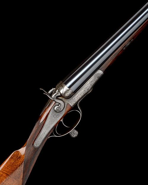 MADE FOR CHARLES GORDONJ. PURDEY & SONS A 12-BORE (3IN.) ROTARY-UNDERLEVER DOUBLE-BARRELLED HAMMER PIGEON GUN, serial no. 16410,