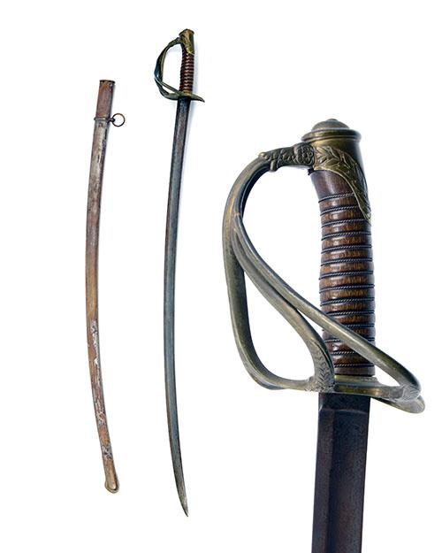 A FRENCH PATTERN 1890 CAVALRY OFFICER''S SWORD,