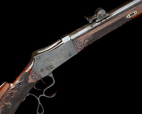 * PAUL HAEUSSLER, SWITZERLAND A 7.5x53.5 (RIMLESS RUBIN) SINGLE-SHOT MATCH-RIFLE, MODEL ''MARTINI TYPE'', serial no. 11,