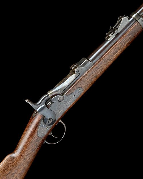 SPRINGFIELD ARMORY, USA A .45-70 (GOVT) SINGLE-SHOT BREECH-LOADING SERVICE-CARBINE, MODEL ''TRAPDOOR'', serial no. 381841,