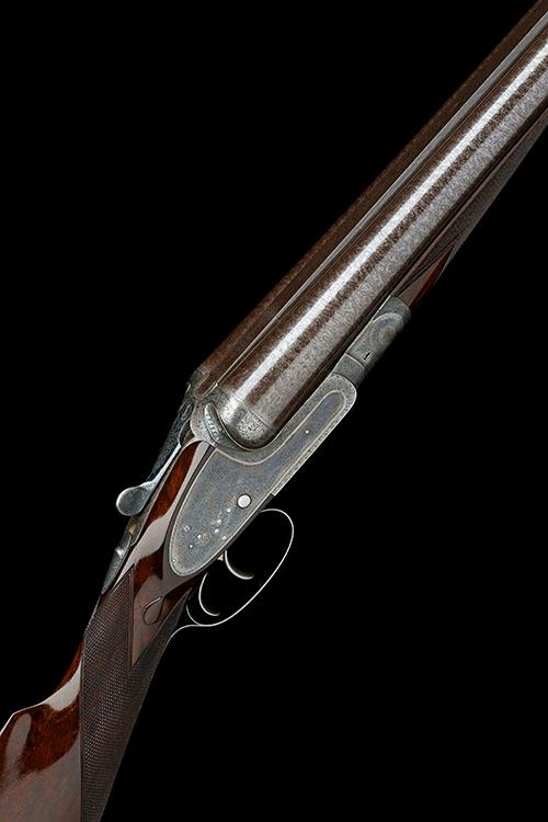 STEPHEN GRANT & SONS AN EXCEPTIONAL 8-BORE DOUBLE-BARRELLED SIDELOCK NON-EJECTOR, serial no. 5933,