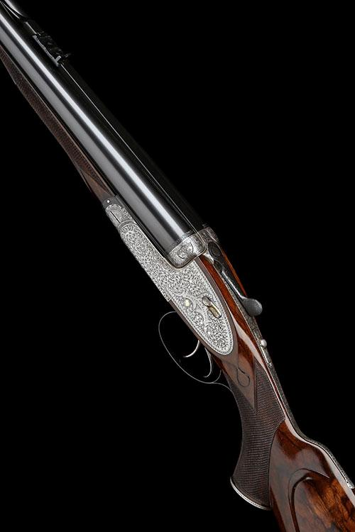 HOLLAND & HOLLAND A .500 / .465 (FLANGED) NITRO EXPRESS ''ROYAL'' HAND-DETACHABLE SIDELOCK EJECTOR DOUBLE RIFLE, serial no. 28277,