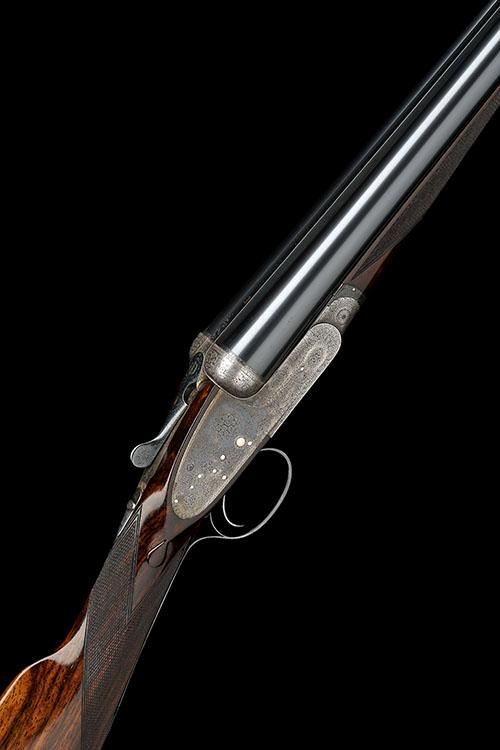 BOSS & CO. A 12-BORE SINGLE-TRIGGER EASY-OPENING SIDELOCK EJECTOR, serial no. 6981,