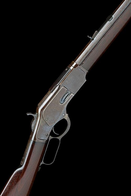 WINCHESTER REPEATING ARMS, USA A .38-40 (WIN) LEVER-ACTION REPEATING-RIFLE, MODEL ''1873'', serial no. 479022B,