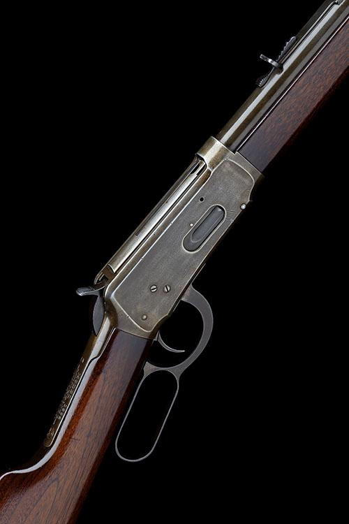 WINCHESTER REPEATING ARMS, USA A .38-55 (WIN) LEVER-ACTION REPEATING RIFLE, MODEL ''1894'', serial no. 574863,