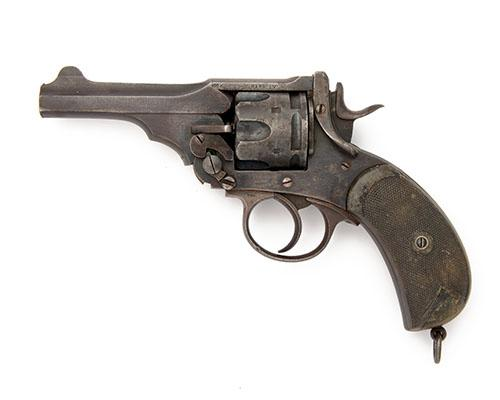 WEBLEY, BIRMINGHAM A .455 DOUBLE-ACTION SERVICE-REVOLVER, MODEL ''MKIV'', serial no. 79726,