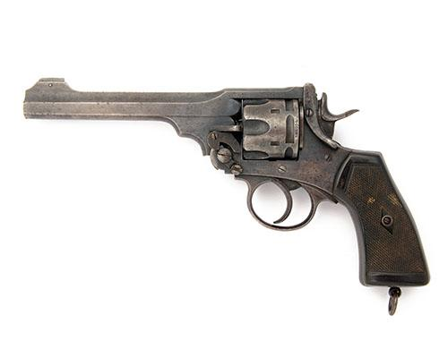 WEBLEY & SCOTT, BIRMINGHAM A .455 DOUBLE-ACTION SERVICE-REVOLVER, MODEL ''MKVI'', serial no. 168055,
